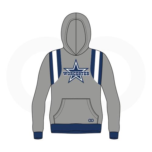 Worcester Cowboys Hoodie - Grey