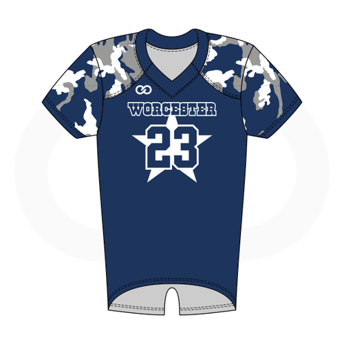 Worcester Cowboys Flag Football Jersey Style 2