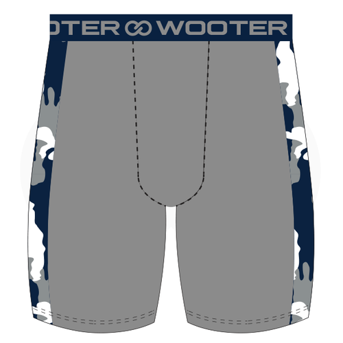 Poughkeepsie Pioneers Football Compression Shorts