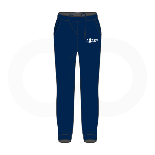 Cocky & Sadity Warmup Pants - Navy