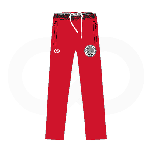 Forest Hills Warmup Pants - Red