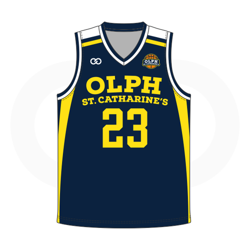 OLPH Basketball Reversible Jersey