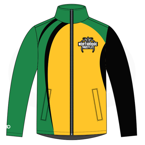 Northridge Hustle Basketball  Warmup Jacket - Style 2