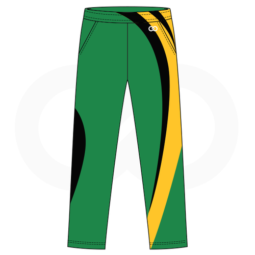 Northridge Hustle Basketball Warmup Pants - Green