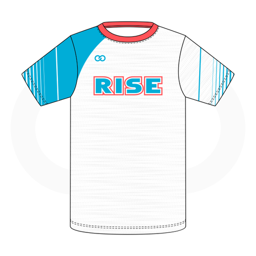 Rise Volleyball T-Shirt - White