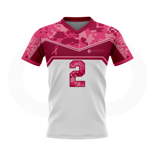 Breast Cancer Awareness Soccer Jersey - White
