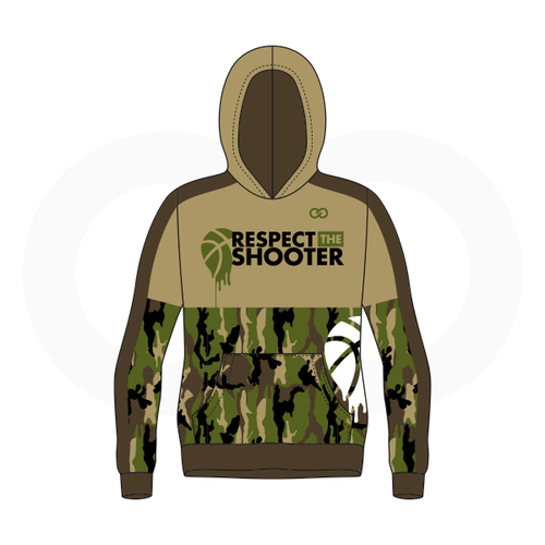 Respect The Shooter Hoodie - Camo