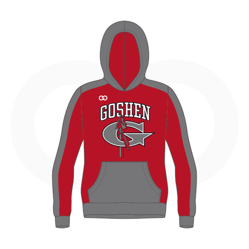 Goshen Youth Basketball Hoodie - Red