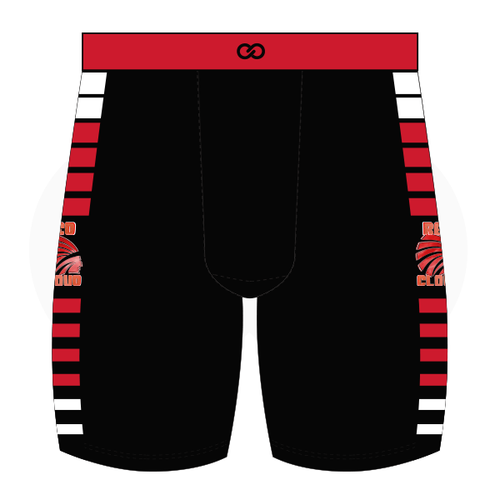 Red Cloud Basketball Compression Shorts