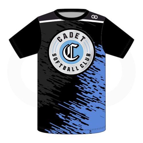 Cadets Softball T Shirt - Style 2