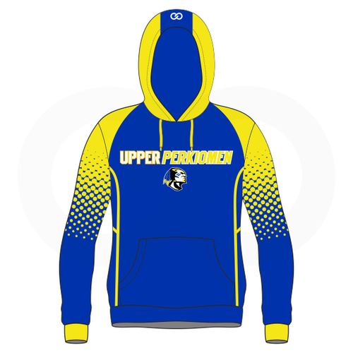 Upper Perk Indians Hoodie Option 1