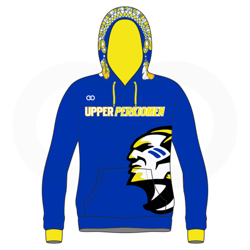 Upper Perk Indians Hoodie Option 2