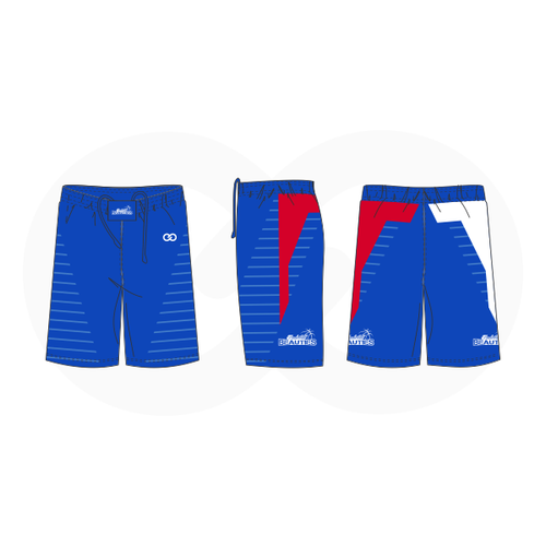 Basketball Beauties Shorts - Royal