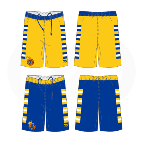 Royals Basketball Reversible Shorts