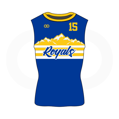 Royals Basketball Sleeveless Compression Shirt
