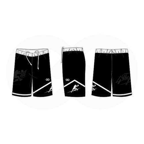 4 The Kill Apparel - Black Shorts