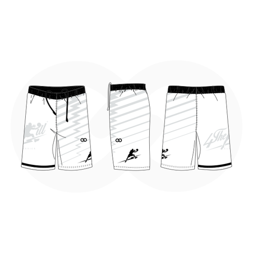 4 The Kill Apparel - White Shorts