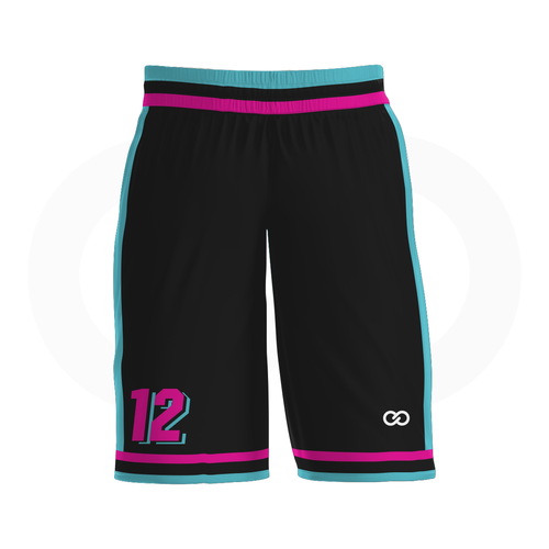 Miami Vice - Custom Basketball Shorts