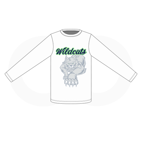 West Hempfield Wildcats Baseball White Shooting Shirt 1