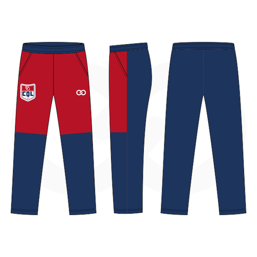 QB Chesterfield Red Blue Warmup Pants
