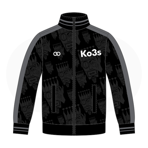 Ko3s Basketball Apparel  Warmup Jacket