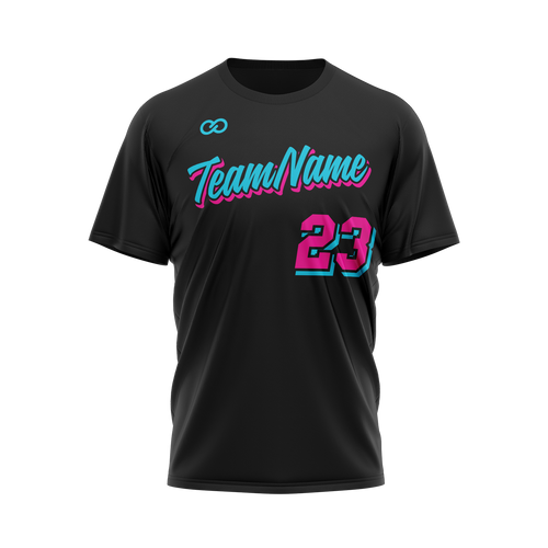 Miami Vice T Shirt - Black