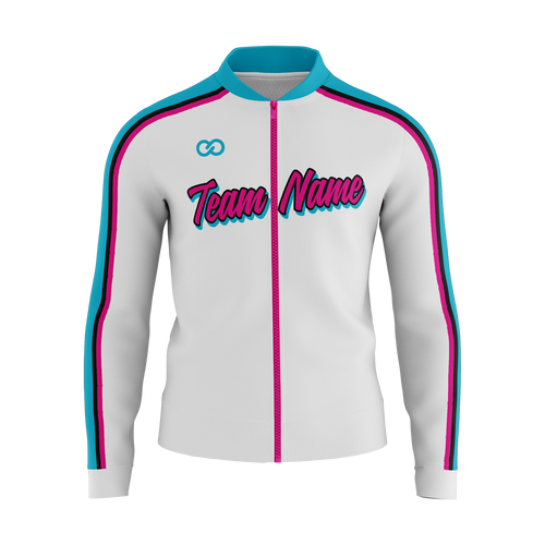 Miami Vice Warmup Jacket - White