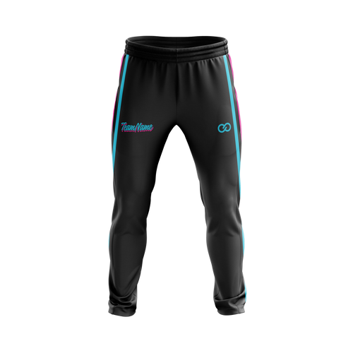Miami Vice Track Pants - Black