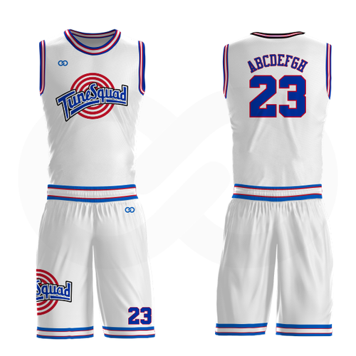 Tune Squad Basketball Uniform - Full Set