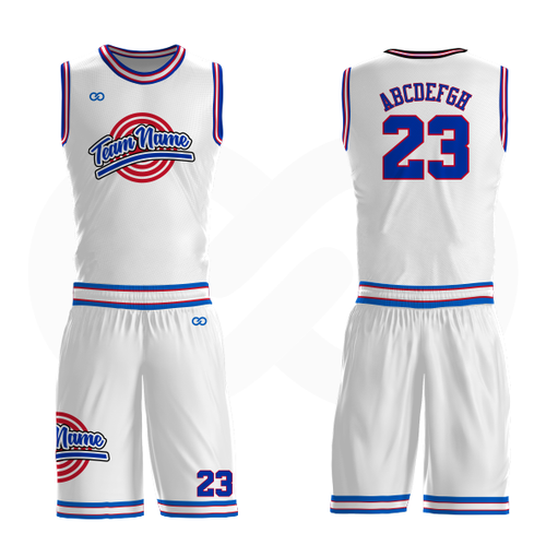 Custom Tune Squad Basketball Uniform Full Set