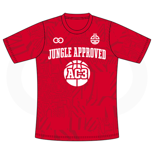Aquille Carr - Jungle Approved Red Tshirt