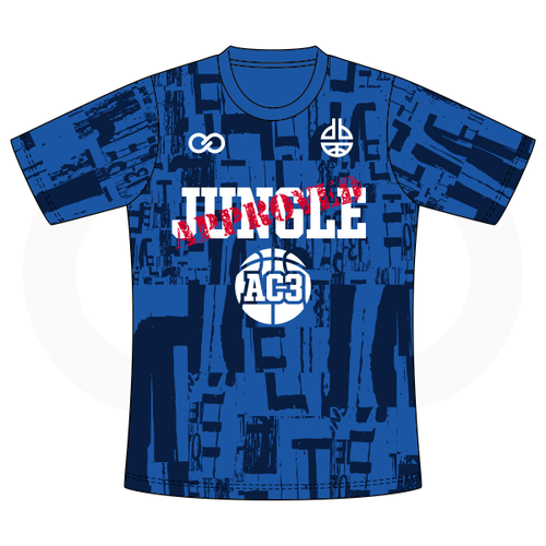Aquille Carr - Jungle Approved Blue Tshirt