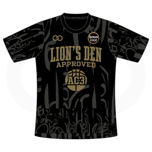 Aquille Carr - Lion's Den Approved Black Tshirt