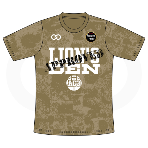 Aquille Carr - Lion's Den Approved Gold Tshirt