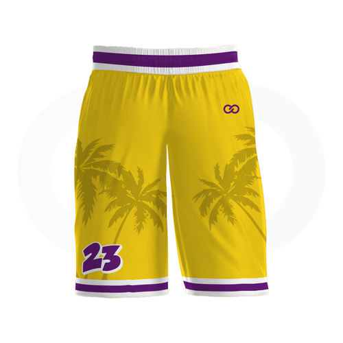 Crenshaw Basketball Shorts - Gold