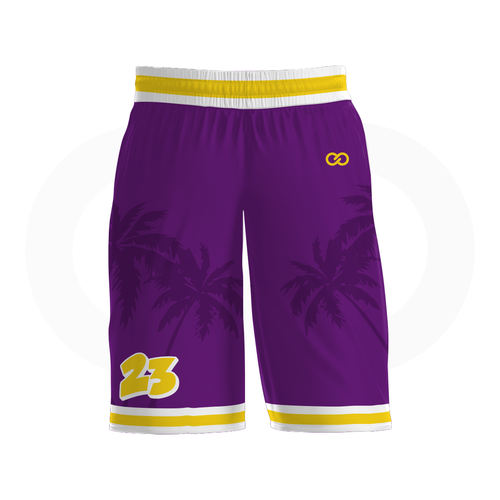 Crenshaw Basketball Shorts - Purple