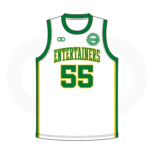 Entertainers Rucker Park Jersey - White Green