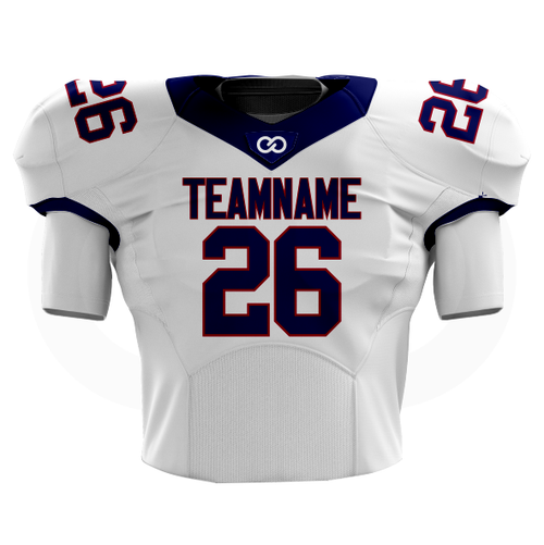 Giants White Football Jersey