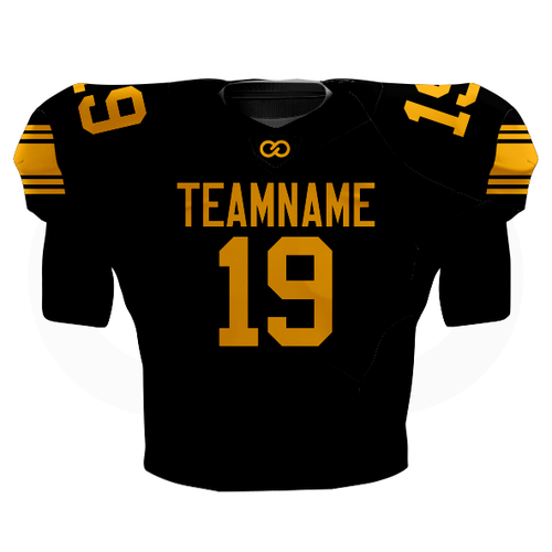 Steelers Black Football Jersey