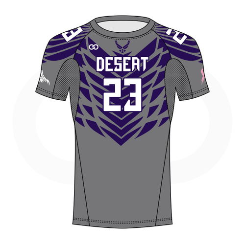 Desert Scorpions Short Sleeve Compression Shirt