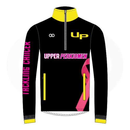 Upper Perk Indians Track Jacket - Breast Cancer Option 3