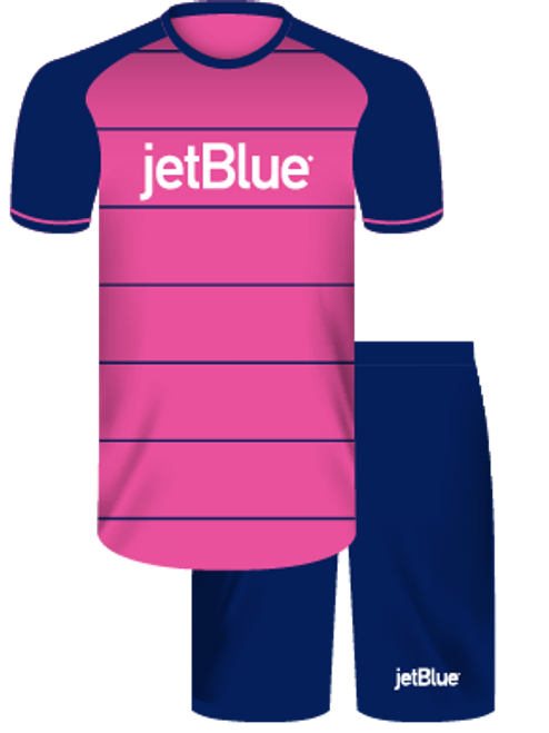 Jet Blue Package - Home Goal Keeper Kit