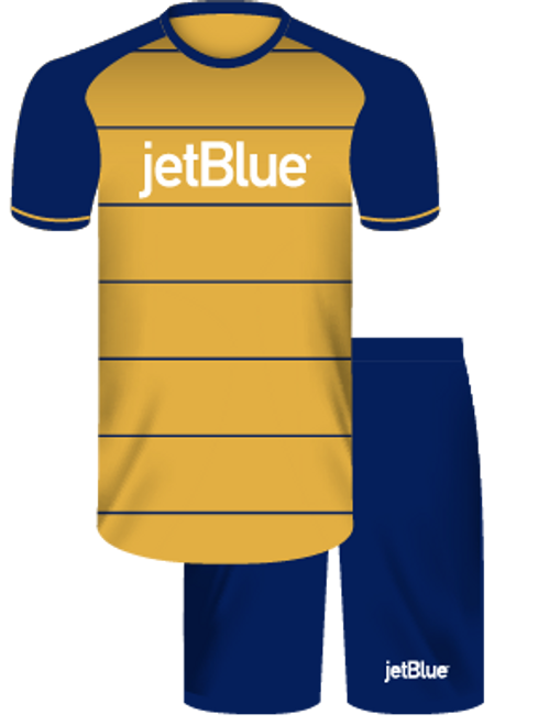 Jet Blue Package - Away Goal Keeper Kit