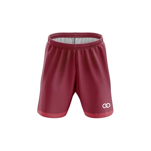 Stars & Stripes Mono - Custom Soccer Shorts (Maroon & Light Maroon)