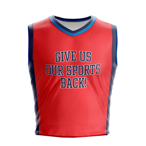 Stop Covid Jersey - OKC Red