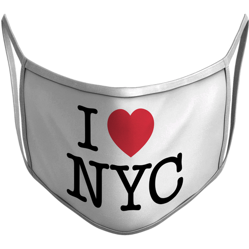 I<3NYC Sublimated Reusable Mask
