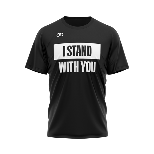 I Stand with You - Black Tee