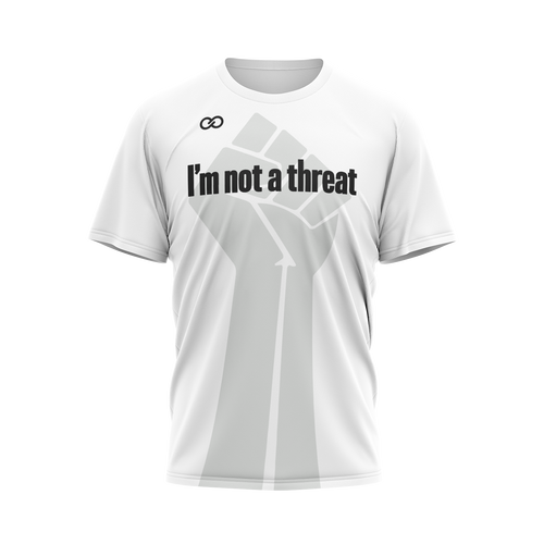 I'm Not a Threat - White Tee