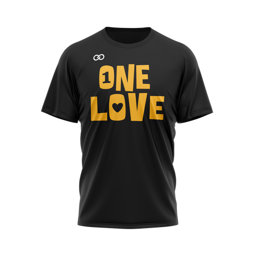 One Love - Black Tee