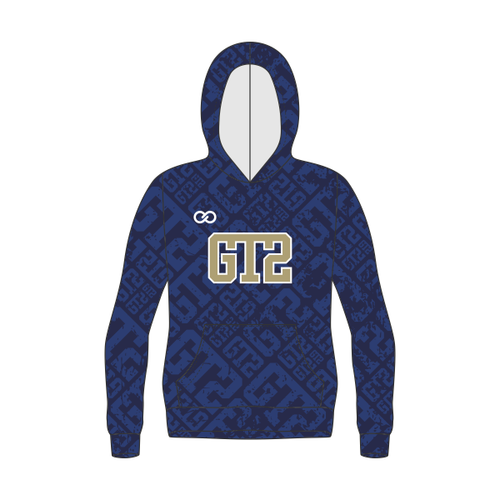 GT2 Gold Patterned Hoodie